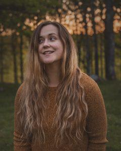 Självporträtt med ett leende